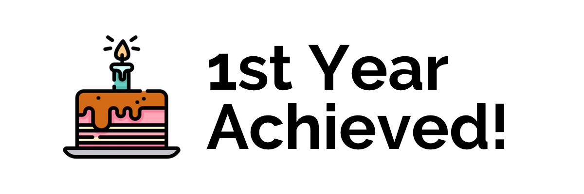1st Year Achieved