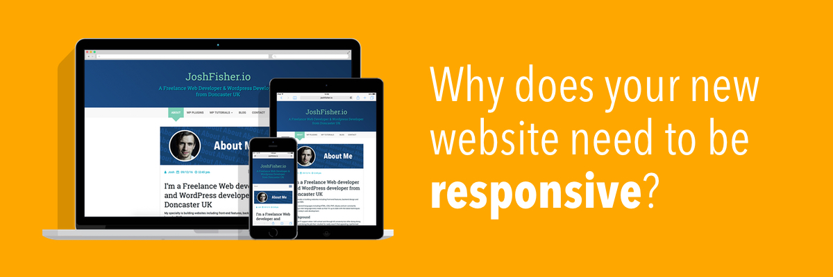 Why does your new website need to be responsive?